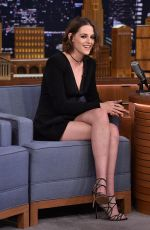 KRISTEN STEWART at The Tonight Show Starring Jimmy Fallon in New York 08/11/2015