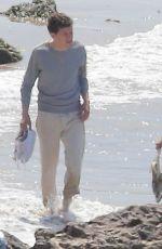 KRISTEN STEWART on the Set of New Woody Allen