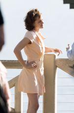KRISTEN STEWART on the Set of the New Woody Allen Movie in Los Angeles 08/24/2015