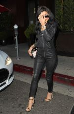 KYLIE JENNER and COURTNEY KARDASHIAN Leaves Go Greek in Beverly Hills 08/05/2015