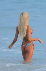 KYLIE JENNER and PIA MIA PEREZ in Bikinis in Punta Mita 08/10/2015