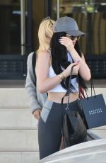 KYLIE JENNER and PIA MIA PEREZ Leaves Barneys New York in Beverly Hills 08/23/2015