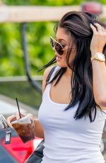 KYLIE JENNER in Tights Out in Calabasas 08/03/2015