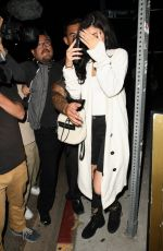KYLIE JENNER Leaves The Nice Guy in West Hollywood 08/26/2015