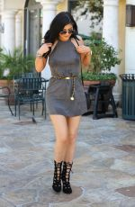 KYLIE JENNER Out and About in Los Angeles 07/31/2015
