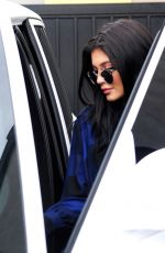 KYLIE JENNER Out and About in Los Angeles 08/06/2015