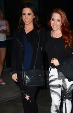 LACEY CHABERT and AMY DAVIDSON Arrives at Taylor Swift's Concert in Los Angeles