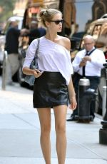 LADA KRAVCHENKO Out and About in New York 08/26/2015