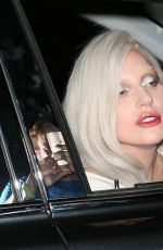 LADY GAGA Leaves The Beverly Wilshire Four Seasons Hotel 08/13/2015