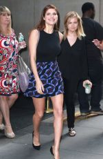 LAKE BELL Arrives at Today Show in New York 08/24/2015