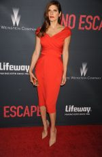 LAKE BELL at No Escape Premiere in Los Angeles
