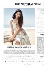 LAKE BELL in More Magazine, September 2015 Issue