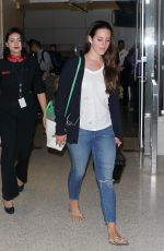 LANA DEL REY Arrives at Los Angeles International Airport 08/18/2015