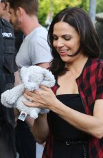 LANAPARRILLA on the Set of Once Upon a Time 08/26/2015