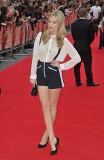 LAURA WHITMORE at The Bad Education Movie Premiere in London