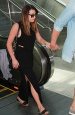 LEA  MICHELE at LAX Airport in Los Angeles 08/05/2015