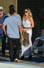 LEANN RIMES Arrives at Nobu in Los Angeles 08/14/2015