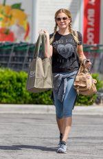 LEANN RIMES in Leggings Leaves Erehwon Market in Los Angeles 07/30/2015