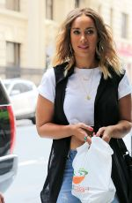 LEONA LEWIS Out for Lunch in New York 07/29/2015