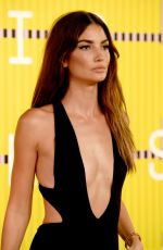 LILY ALDRIDGE at MTV Video Music Awards 2015 in Los Angeles