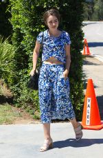 LILY COLLINS at Pre Teen Choice Awards Gifting Suite in Brentwood