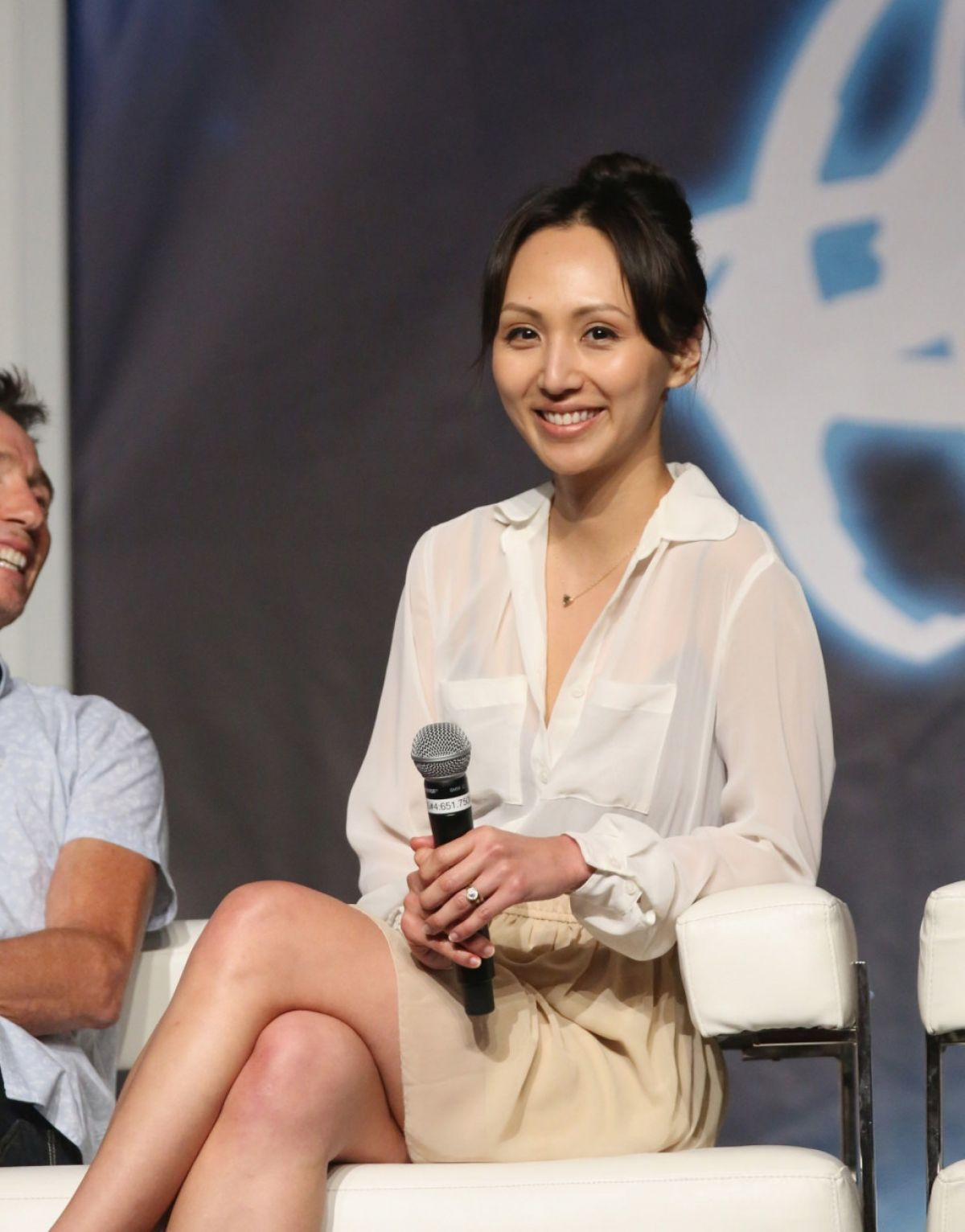 LINDA PARK at 14th Annual Official Star Trek Convention in Las Vegas 08/06/2015