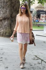 LISA SNOWDON Out and About in London 08/05/2015