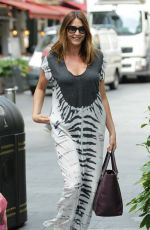 LISA SNOWDON Out and About in London 08/07/2015