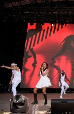 LITTLE MIX at Billboard Hot 100 Music Festival in Jones Beach