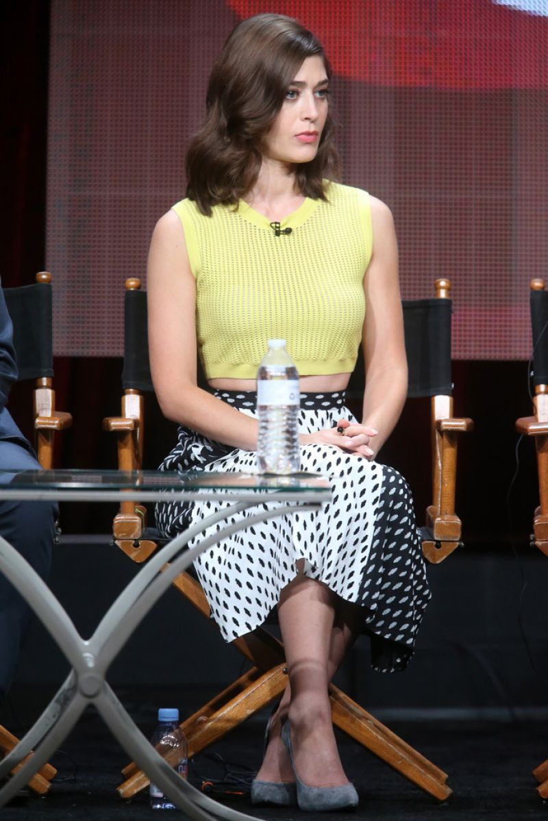 LIZZY CAPLAN at Master of Sex Panel at 2015 TCA Summer Tour in Beverly Hills