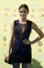 LUCY HALE at 2015 Teen Choice Awards in Los Angeles