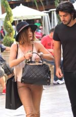 LUCY HALE Shopping at The Grove in West Hollywood 08/19/2015