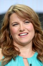 LUCY LAWLESS at Ash vs. Devil Panel at 2015 Summer TCA Tour in Beverly Hills