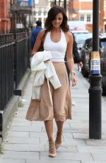 LUCY MECKLENBURGH Out and About in London 08/05/2015