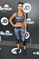 LUCY MECKLENBURGH Ppromotes Her Range of Ellesse Sportswear at JD Sports in Newcastle