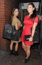 LUISA ZISSMAN at Ego Profesional X MacMillan Cancer National Blow Dry Day in London
