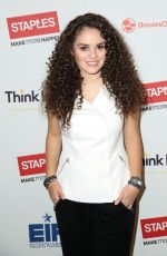 MADISON PETTIS at Staples Think It Up Initiative Press Conference in Hollywood