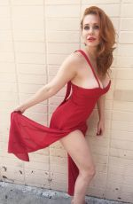 MAITLAND WARD on the Set of a Photoshoot in Beverly Hills 08/21/2015