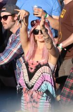 MARGOT ROBBIE at Osheaga Music and Arts Festival in Montreal 08/01/2015
