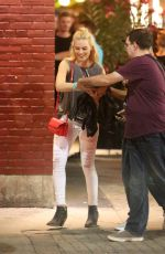 MARGOT ROBBIE at Suicide Squad Wrap Party in Toronto
