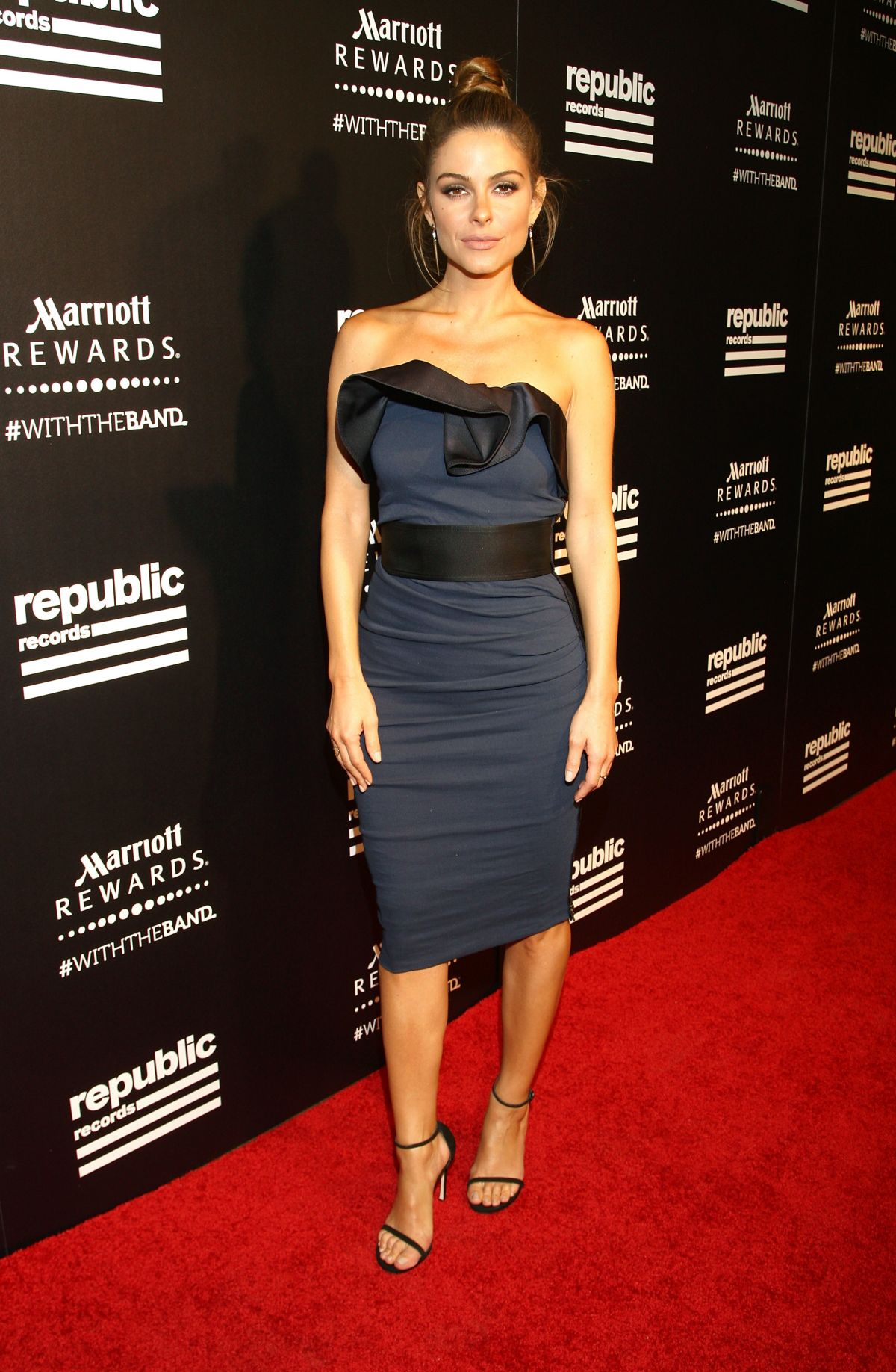 MARIA MENOUNOS at Rpublic Records VMA After-party in West Hollywood
