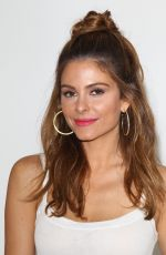 MARIA MENOUNOS Out and About  in Los Angeles 08/28/2015