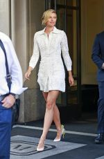 MARIA SHARAPOVA Leaves Her Hotel in New York 08/25/2015