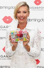 MARIA SHARAPOVA Unveils New Sugarpova Pop-up Shop at Bloomingdale