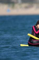 MARIAH CAREY in Wetsuit in Italy 06/21/2015
