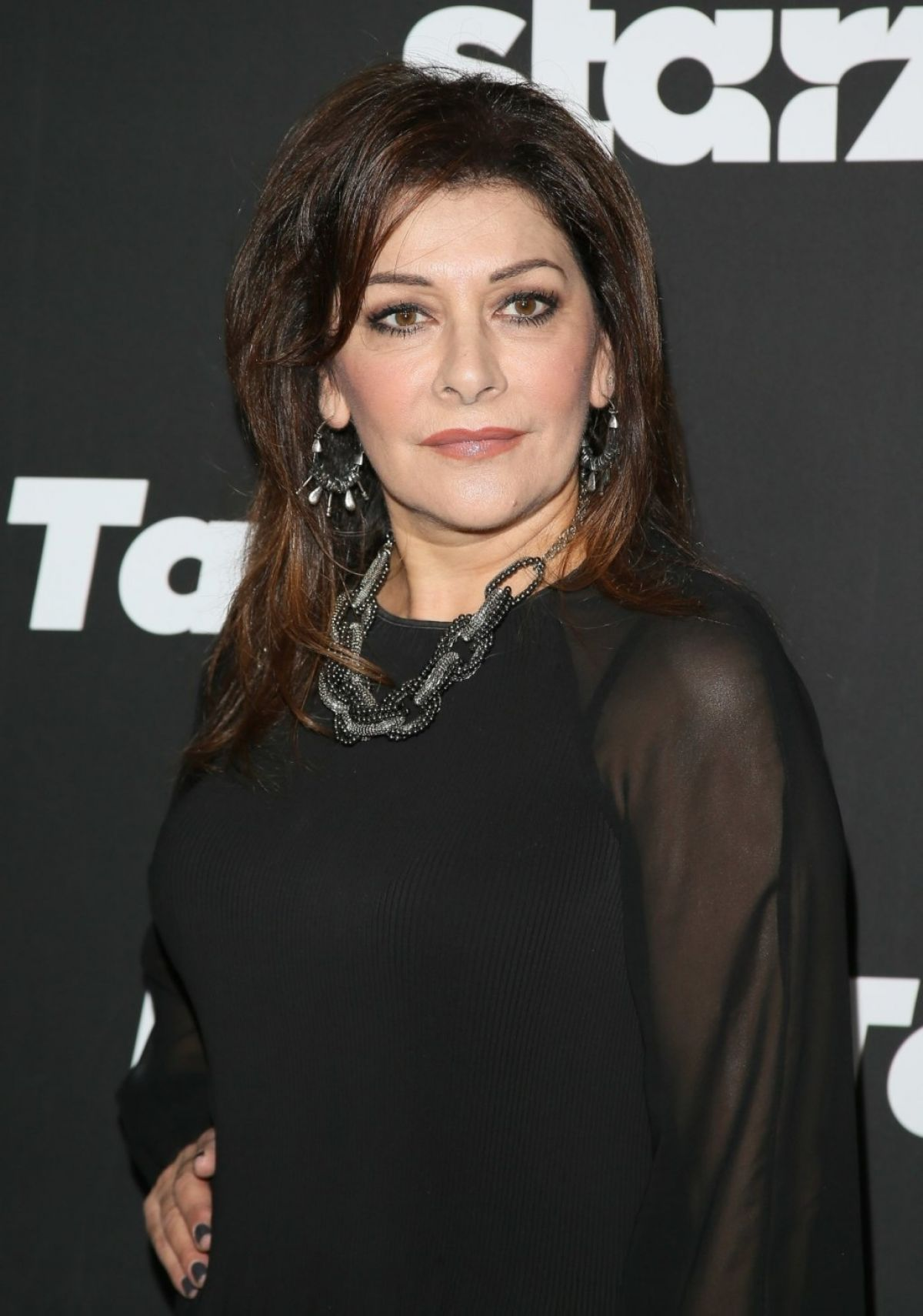 MARINA SIRITIS at Blunt Talk Series Premiere