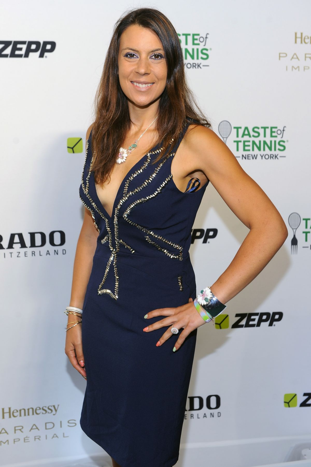 MARION BARTOLI at Taste of Tennis Gala in New York