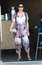 MARISA TOMEI Leaves Sweet Lady Jane Cafe 08/18/2015