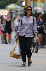 MARISA TOMEI Out Shopping in New York 08/12/2015