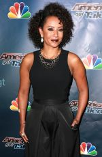 MELANIE BROWN at America's Got Talent Post-Show Red Carpet Event in Hollywood 08/19/2015